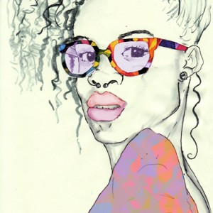 I see you illustration by Roxanne Williams