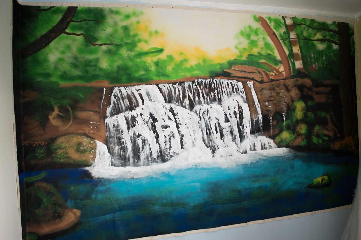 Portfolio roxanne williams for Painting a forest in acrylics